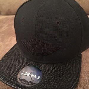 All Black Air Jordan Nike Jordan Hat Men's Sports